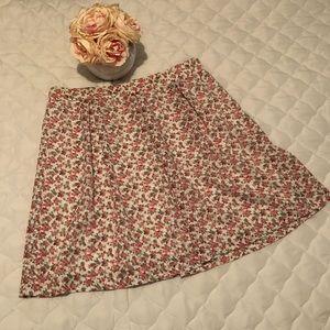 5/$25 🔴 Floral Skirt